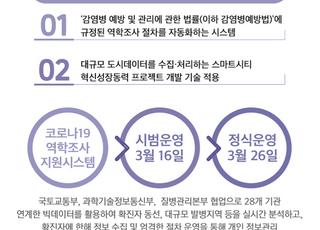 국토부, 코로나19 역학조사 지원시스템…신속성·정확성 ↑