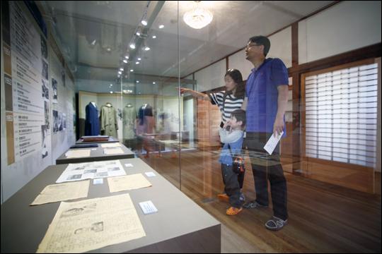 임시수도기념관 2층 전시실 ⓒ 오주환