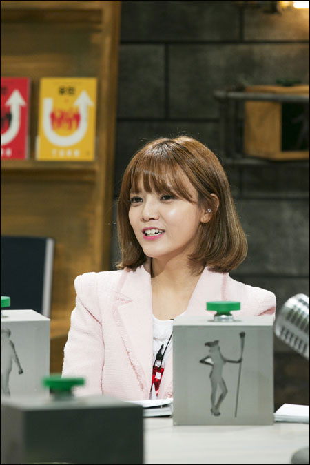 걸그룹 AOA 멤버 지민이 종합편성채널 JTBC