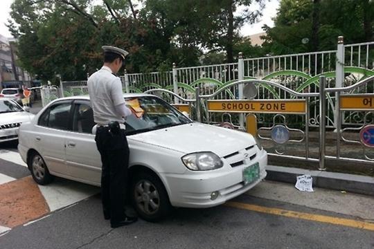 7일 서울지방경찰청은 보행자 사고 감소를 위해 최대속도를 시속 30km 이내로 제한하는 도로를 대폭 늘릴 방침이라고 전했다. (자료사진) ⓒ연합뉴스