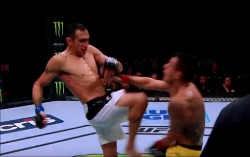 UFC 퍼거슨과 맥그리거의 화끈한 타격전을 기대하는 팬들이 많다. ⓒ UFC 캡처