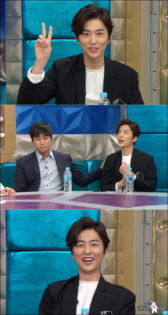 배우 신동욱이 '라디오스타'에서 7년 만에 연예계로 복귀한 소감을 밝혔다. ⓒMBC
