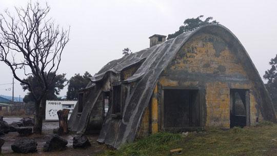 이시돌목장 부근에 있는 '테쉬폰'주택으로 우리나라에 유일하게 남아있다.ⓒ조남대