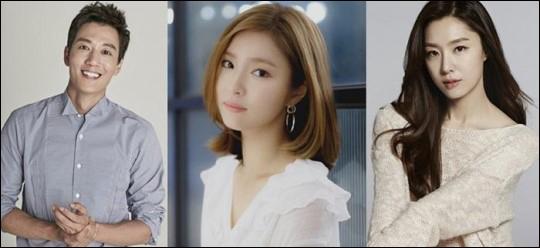 배우 김래원·신세경·서지혜가 KBS2 새 수목드라마