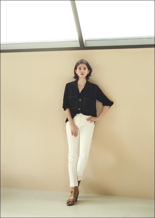 배우 이보영은 15일 종영한 tvN