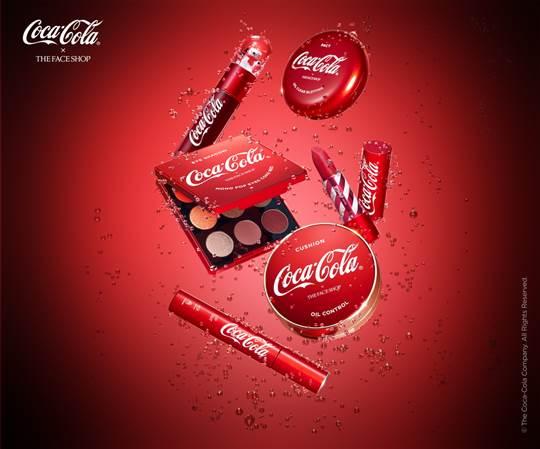 더페이스샵 X 코카-콜라 콜라보레이션. ⓒLG생활건강