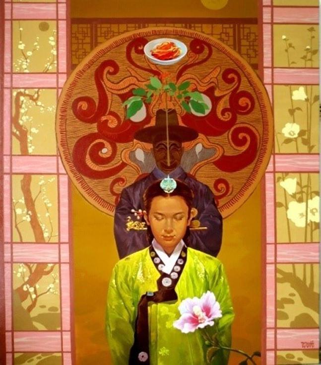 대상을 받은 팜 투안의 <<진수>> 한식, 한복 등 한국의 가장 대표적인 문화적 특징을 절묘하게 담아서 평가를 높이 받은 작품이다.ⓒ한세실업