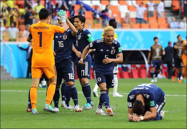 90분 내내 쉬지 않았던 일본은 승리 자격이 충분하다. ⓒ 게티이미지