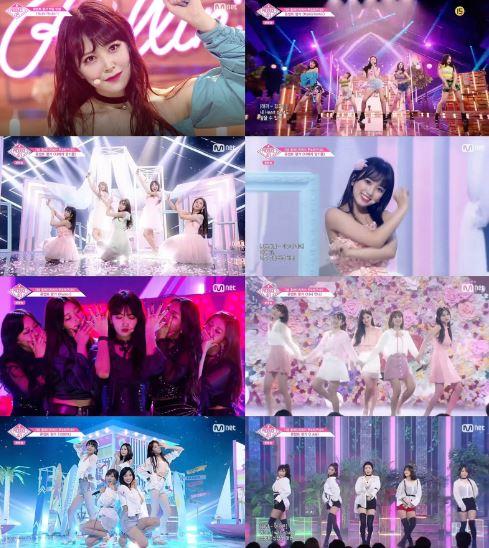 '프로듀스48'의 최종 관문 파이널 생방송에 진출하기 위한 마지막 여정인 콘셉트 평가 무대가 모두 공개되며 시청자들의 뜨거운 관심을 받았다. ⓒ 엠넷