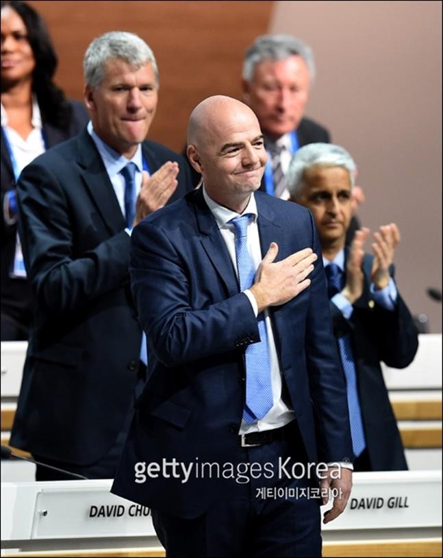 FIFA 인판티노 회장 ⓒ 게티이미지