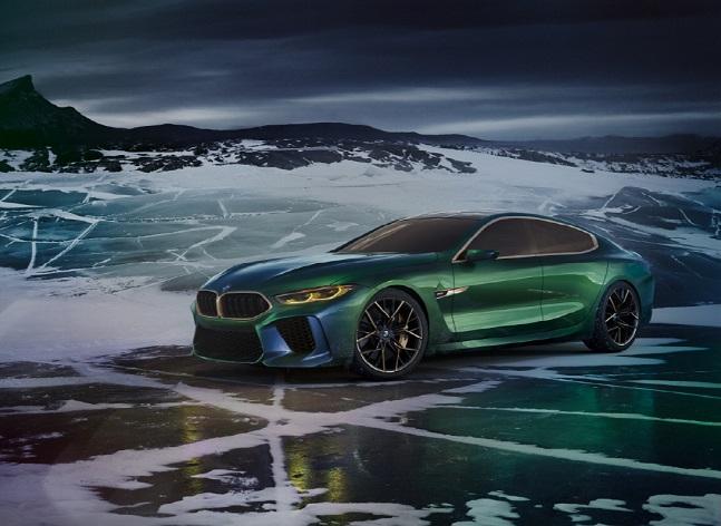 아시아 최초공개되는 BMW 콘셉트카 M8 그란 쿠페 ⓒBMW그룹코리아