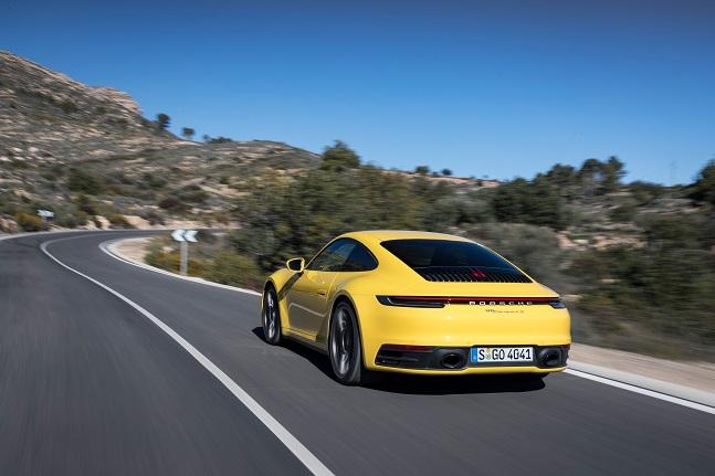 국내 최초 공개되는 포르쉐 신형 911 카레라 4S ⓒ포르쉐코리아
