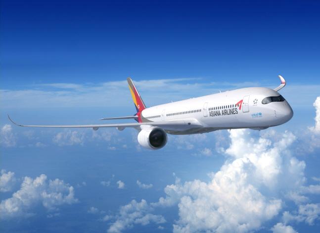 아시아나항공 A350 항공기.ⓒ아시아나항공