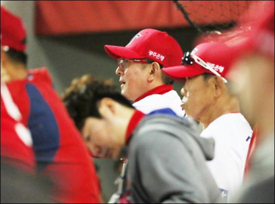 KIA는 김기태 감독 고별전에서도 패했다. ⓒ 연합뉴스