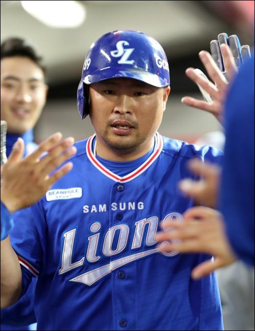 박한이가 음주운전 적발에 대한 도의적 책임을 지기 위해 은퇴를 선언했다. ⓒ 연합뉴스