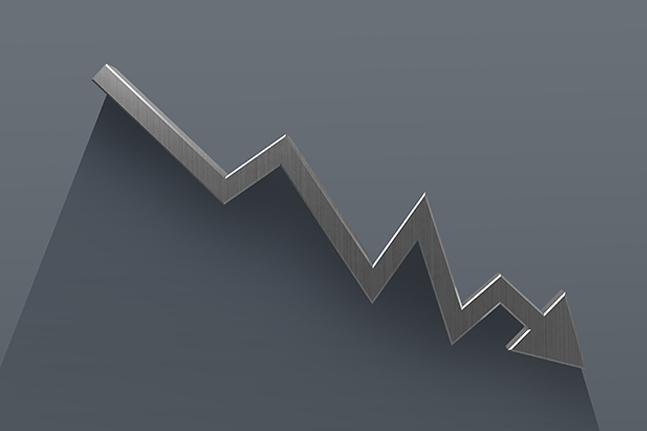 추락을 거듭하던 우리나라의 경제 성장률이 올해 첫 성적표에서 끝내 마이너스로 돌아섰다.ⓒ게티이미지뱅크
