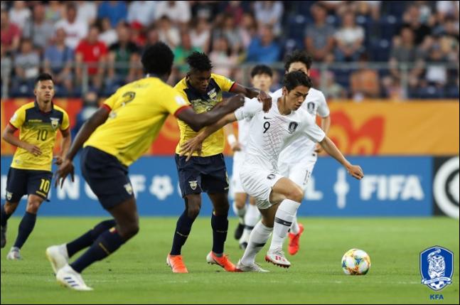 지난 준결승에서 한국에 패했던 에콰도르는 이탈리아를 물리치고 대회 3위에 올랐다. ⓒ 대한축구협회