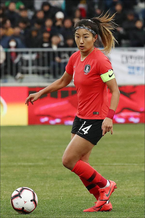 여자축구 국가대표팀 주장 조소현(웨스트햄)이 후배 선수들에게 안주해선 안 된다는 뼈있는 조언을 남겼다. ⓒ 데일리안 홍금표 기자