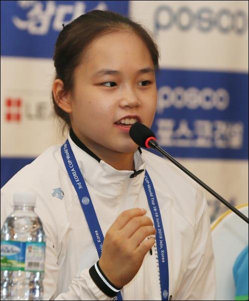 여서정 금메달. ⓒ 연합뉴스
