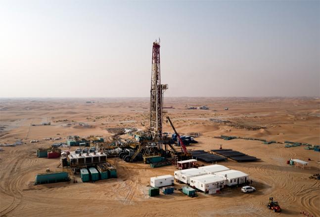 한국석유공사와 GS에너지가 개발에 참여한 UAE 할리바 유전 전경. ⓒ한국석유공사