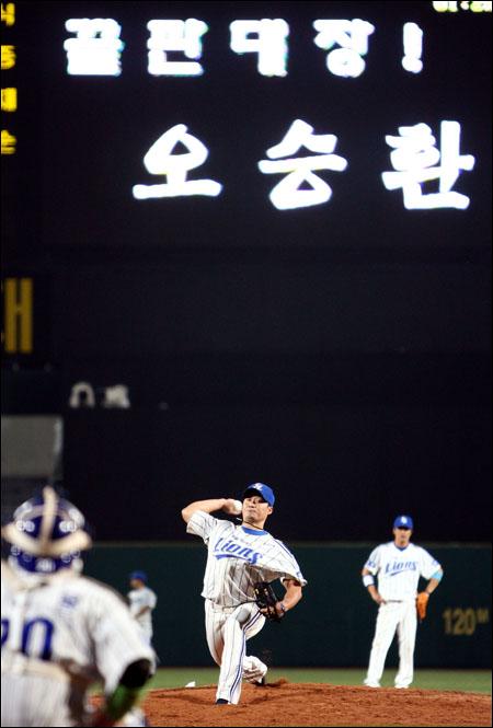 오승환이 삼성의 푸른 유니폼을 다시 입을 지 관심이 모아진다. ⓒ 삼성 라이온즈