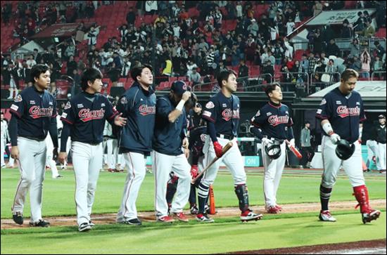 롯데는 팀 연봉 대비 효율이 가장 떨어지는 팀이다. ⓒ 연합뉴스