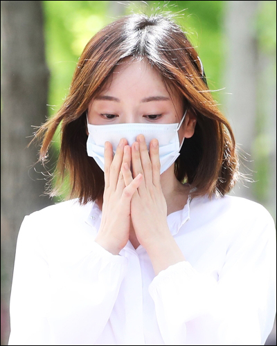 황하나가 집행유예를 선고받고 자유의 몸이 됐다. ⓒ 연합뉴스