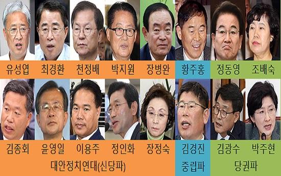 민주평화당 삼분 상황도(자료사진). ⓒ데일리안 사진DB