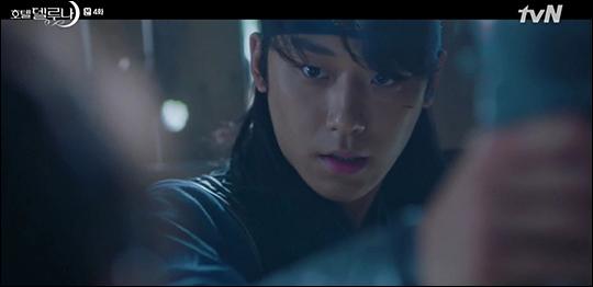 '호텔 델루나' 이도현에 대한 관심이 높아지고 있다. tvN 방송 캡처.