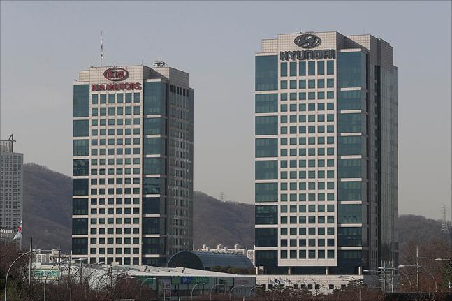 서울 양재동 현대·기아자동차 본사 전경.ⓒ데일리안 홍금표 기자