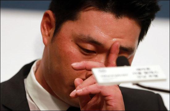 징계가 발효된 오승환은 불법해외원정도박 관련해 아직 제대로 된 사과를 하지 않았다. ⓒ 연합뉴스