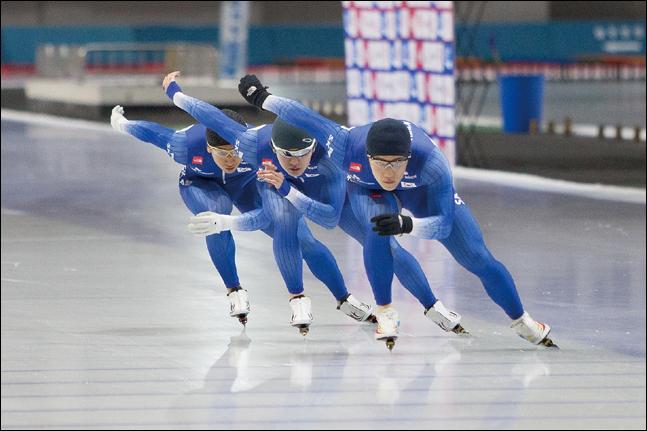 빙속 국가대표 5명이 태릉선수촌서 음주를 하다 적발돼 징계를 받았다. ⓒ 대한체육회