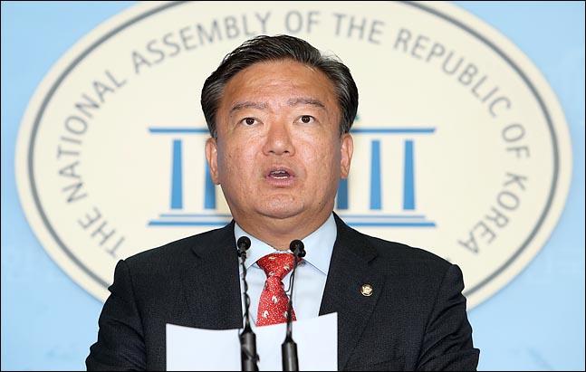 민경욱 자유한국당 대변인(자료사진). ⓒ데일리안 박항구 기자