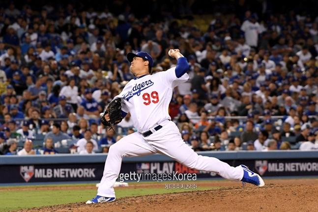 류현진-커쇼가 버틴 다저스 선발 평균자책점은 2.93으로 리그 1위다. ⓒ 게티이미지