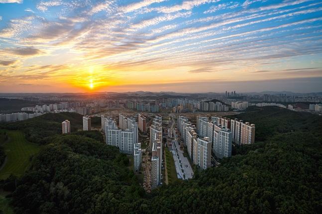 '동탄2신도시 반도유보라 아이비파크10(1,2단지)' 전경.ⓒ반도건설