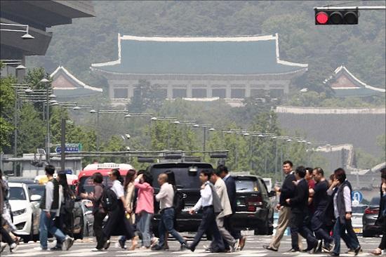 청와대 전경ⓒ데일리안 박항구 기자