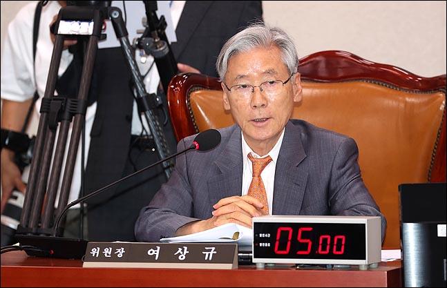 여상규 국회 법제사법위원장(자료사진). ⓒ데일리안 박항구 기자