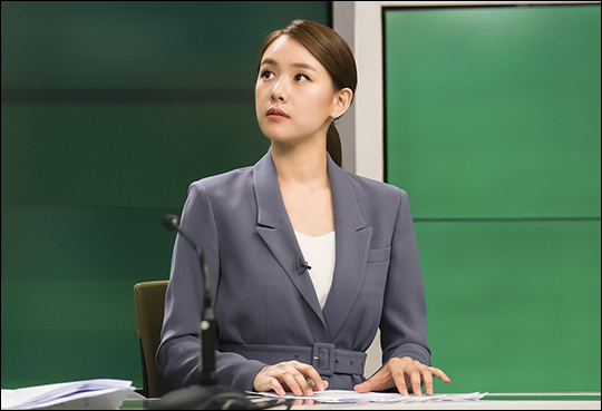배우 조윤희가 야망 넘치는 아나운서로 변신한다. ⓒ HB엔터테인먼트