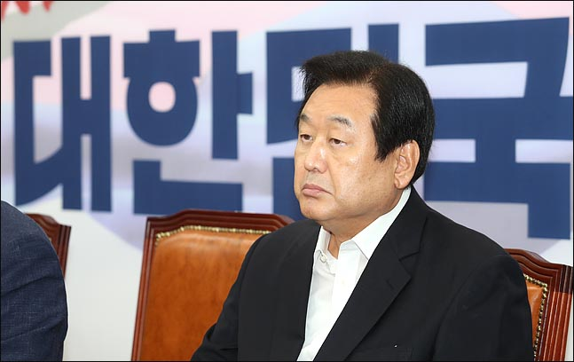 김무성 자유한국당 의원. ⓒ데일리안 박항구 기자