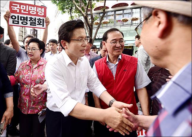황교안 자유한국당 대표가 11일