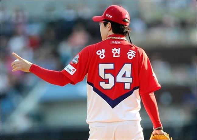양현종이 11일 부산 롯데전에서 무사사구 완봉승을 거뒀다. ⓒ 연합뉴스