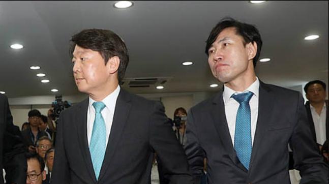 바른미래당 안철수 전 대표와 하태경 수석최고위원(자료사진). ⓒ데일리안 박항구 기자