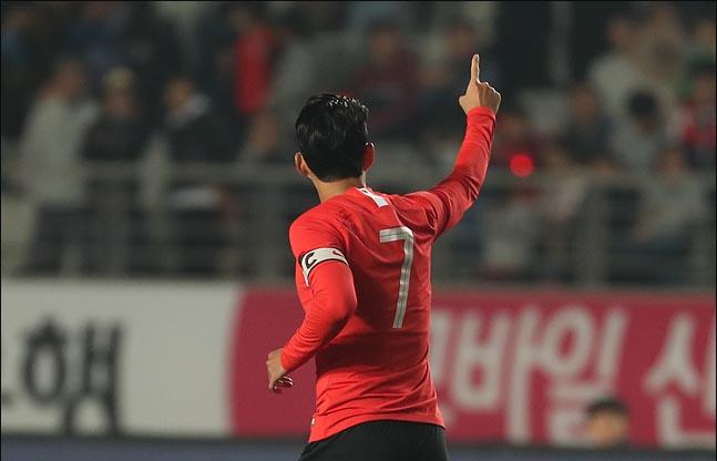 벤투호 에이스 손흥민. ⓒ 데일리안 박항구 기자
