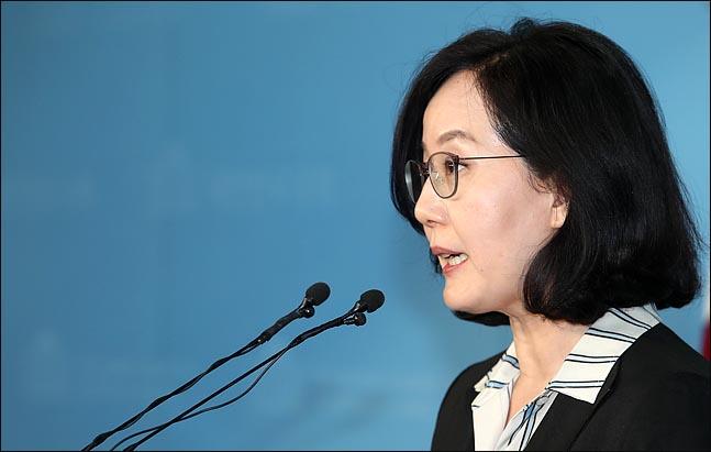 김현아 자유한국당 원내 대변인.  ⓒ데일리안 박항구 기자