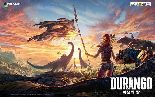 넥슨이 모바일 수집형 MMORPG '야생의 땅: 듀랑고'.ⓒ넥슨
