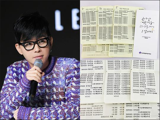 가수 이승환의 팬들이 기부 활동에 나섰다. ⓒ 드림팩토리 /한국백혈병어린이재단