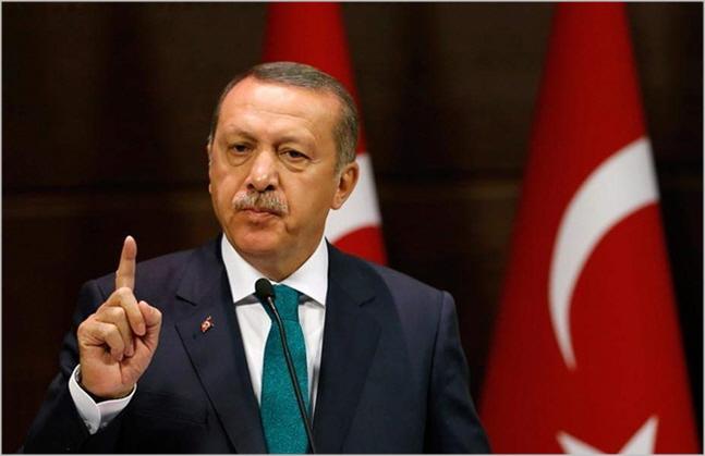 레제프 타이이프 에르도안 터키 대통령 ⓒ블룸버그 통신