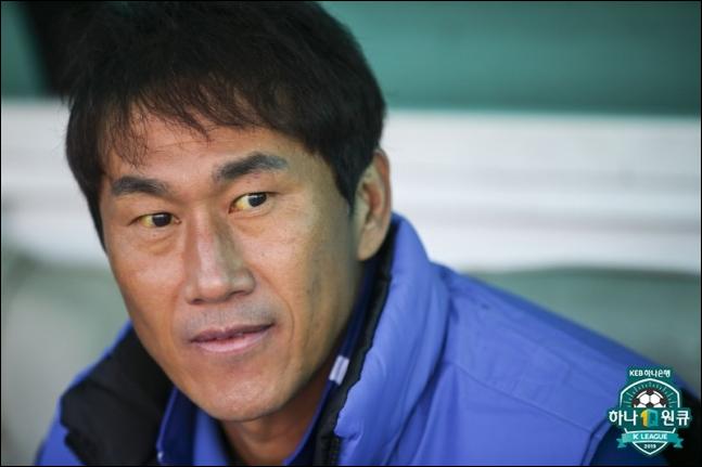 유상철 인천 감독. ⓒ 프로축구연맹
