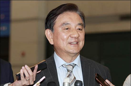 홍석현 한반도평화만들기 이사장(자료사진). ⓒ데일리안 박항구 기자