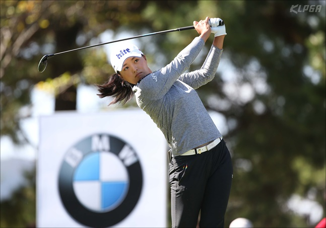고진영이 LPGA투어 올해의 선수 수상자로 결정됐다. ⓒ KLPGA